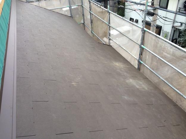 新築屋根工事と太陽光ソーラーパネル設置工事1443837717575