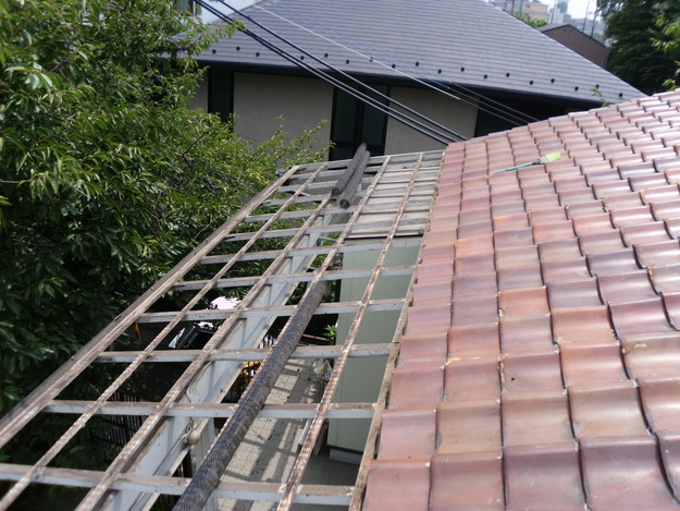 施工中屋根波板DSCI0136