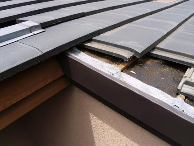 施工中雨漏り修理ケラバ箇所DSCI0153