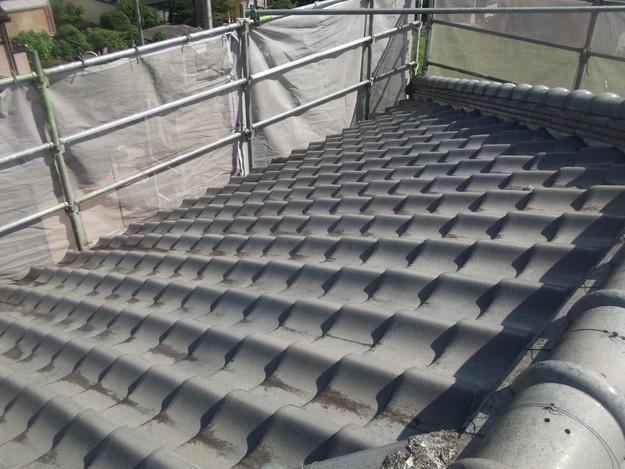 施工前の瓦屋根のリフォームDSCF2002