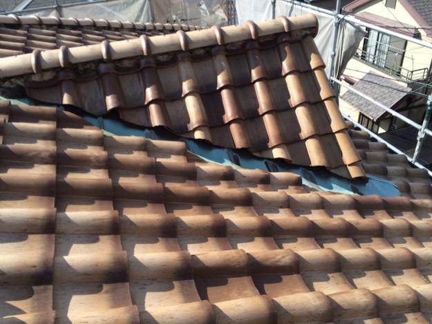 施工前屋根のリフォーム神戸市兵庫区1441974702142
