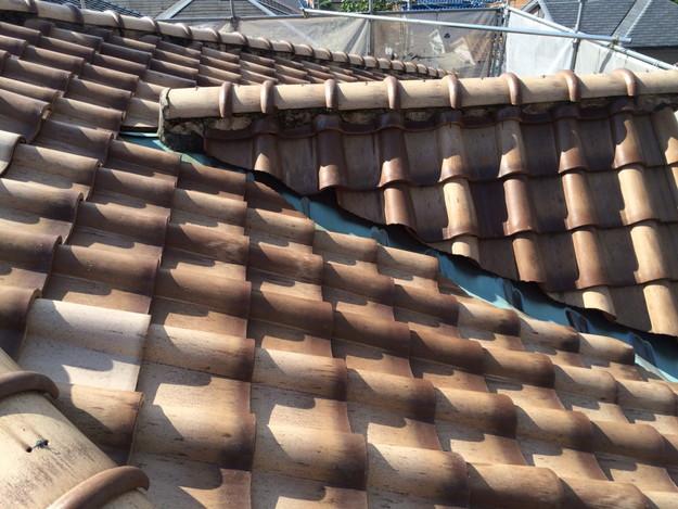 施工前屋根のリフォーム神戸市兵庫区1441974706421