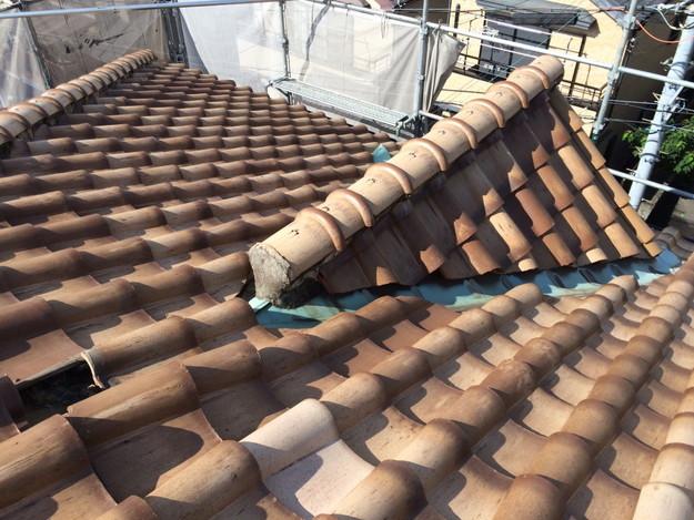 施工前屋根のリフォーム神戸市兵庫区1441974712098