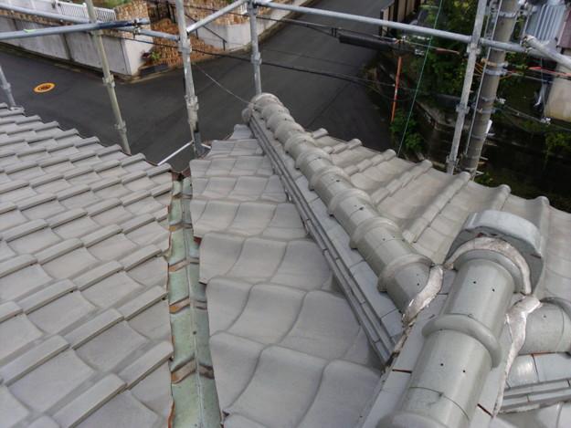 施工前雨漏り対策屋根修理DSCI0189
