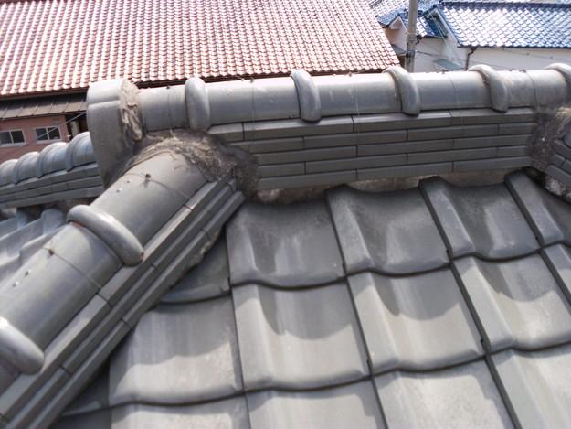施工前雨漏り対策屋根修理DSCI0292