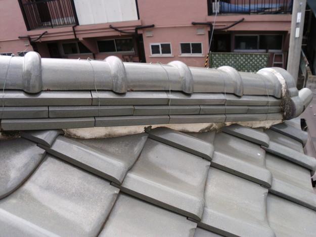 施工前雨漏り対策屋根修理DSCI0308
