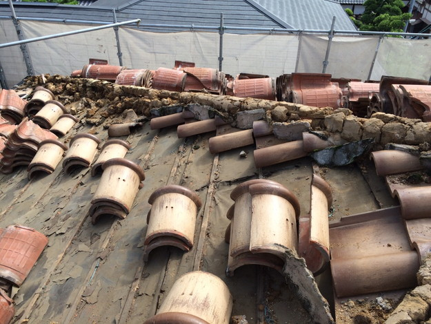 既存屋根撤去屋根のリフォーム神戸1441974716969