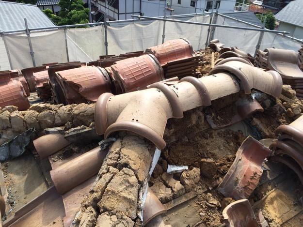 既存屋根撤去屋根のリフォーム神戸1441974727401