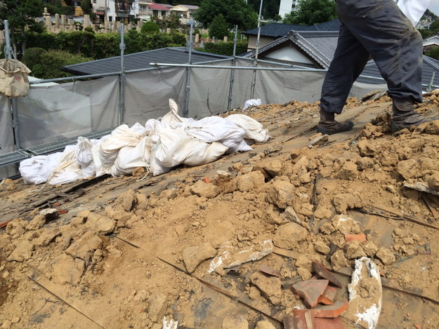 既存屋根撤去屋根のリフォーム神戸1441974733063