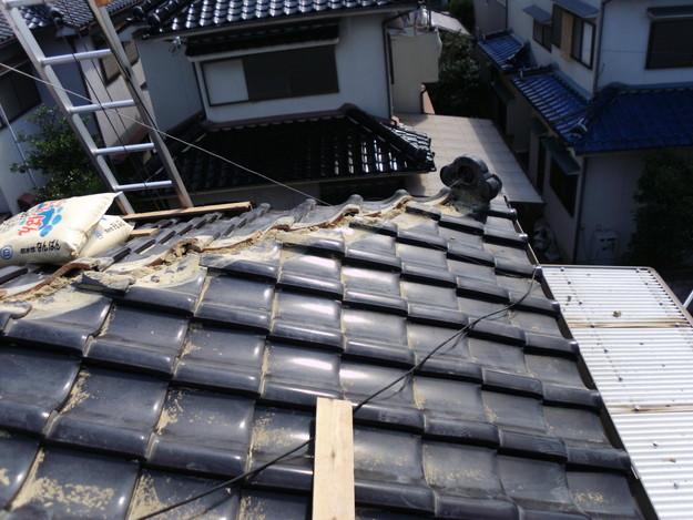 棟瓦箇所雨漏り対策屋根修理DSCI0391