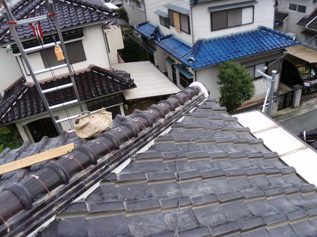 棟瓦箇所雨漏り対策屋根修理DSCI0401