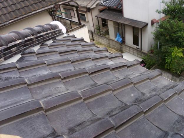 棟瓦箇所雨漏り対策屋根修理DSCI0407