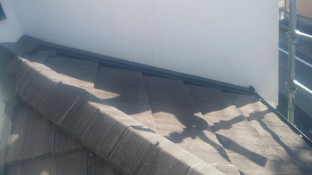 雨漏り修理壁際板金工事1441972365485