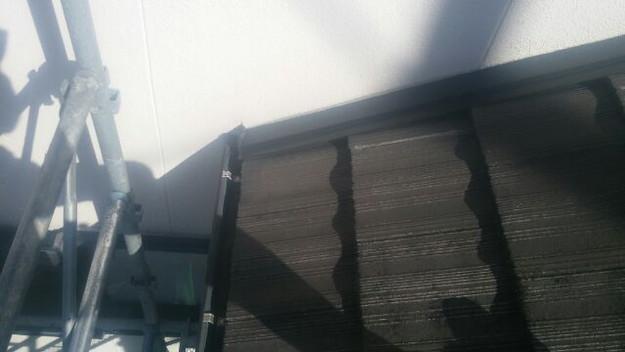 雨漏り修理壁際板金工事1441972372267