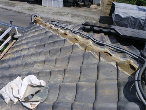 雨漏り修理棟瓦DSCI0163