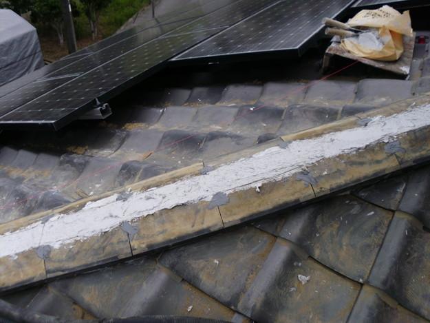 雨漏り修理棟瓦DSCI0166