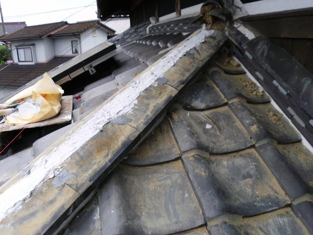 雨漏り修理棟瓦DSCI0167