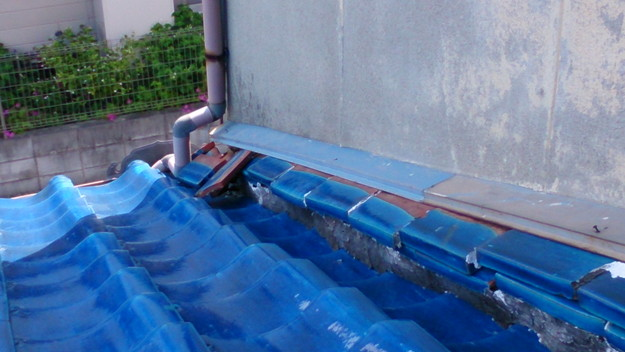 雨漏り修理雨漏り点検DSC_1281