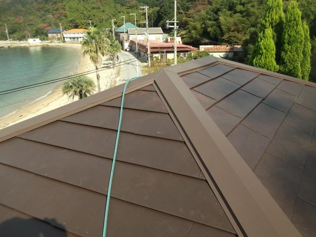 カバー工法ガルバリウム屋根葺き替え工事DSCF2320