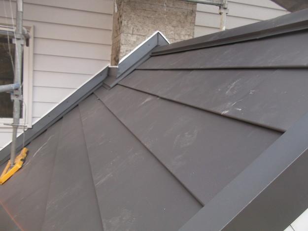 カバー工法屋根葺き替え工事完了DSCF2280