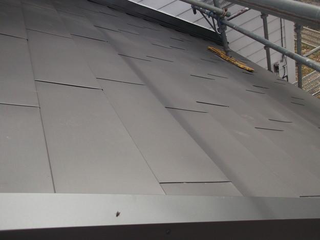 カバー工法屋根葺き替え工事完了DSCF2282