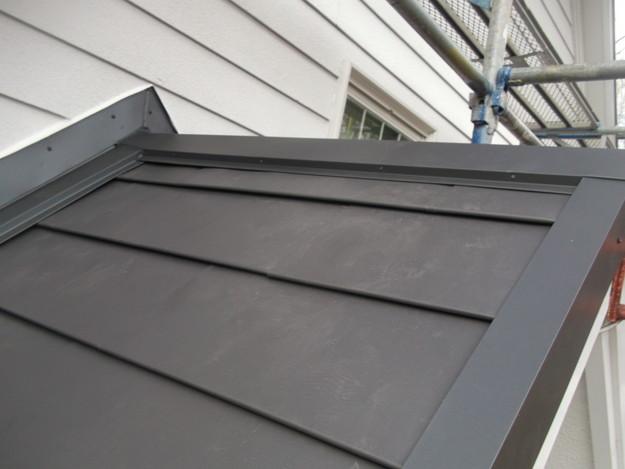 カバー工法屋根葺き替え工事完了DSCF2286