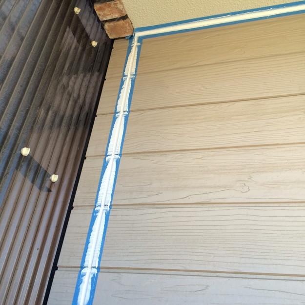 外壁防水コーキング工事1447477612757