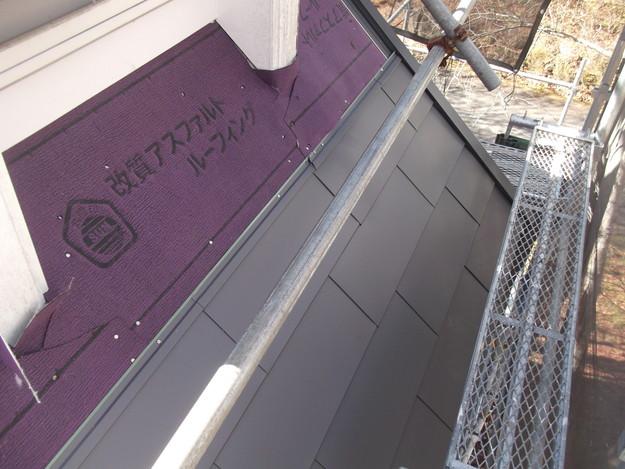 屋根敷設中DSCF2256