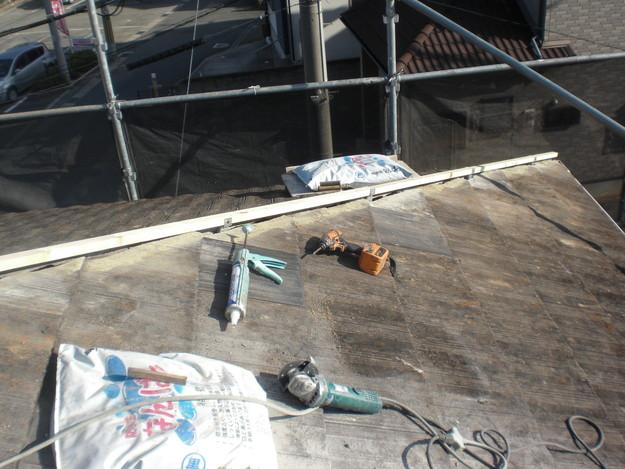屋根棟修理CIMG1905