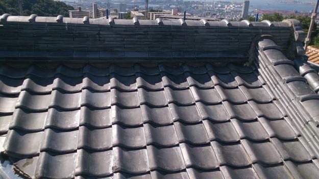 施工前屋根修理工事神戸市DSC_0767