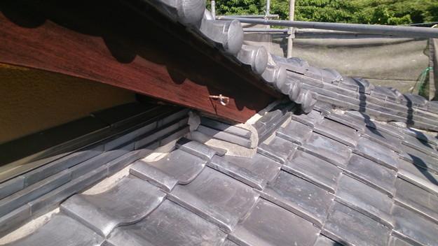 施工前屋根修理工事神戸市DSC_0774