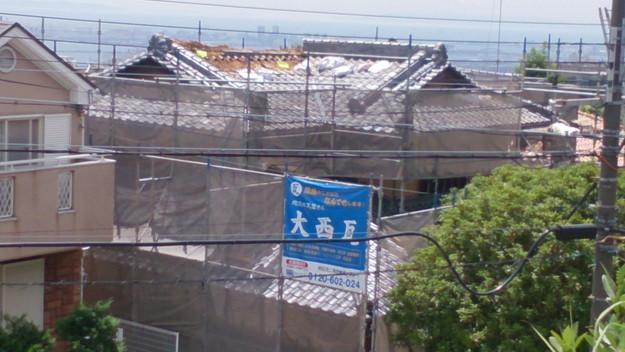 施工前屋根修理工事神戸市DSC_0790