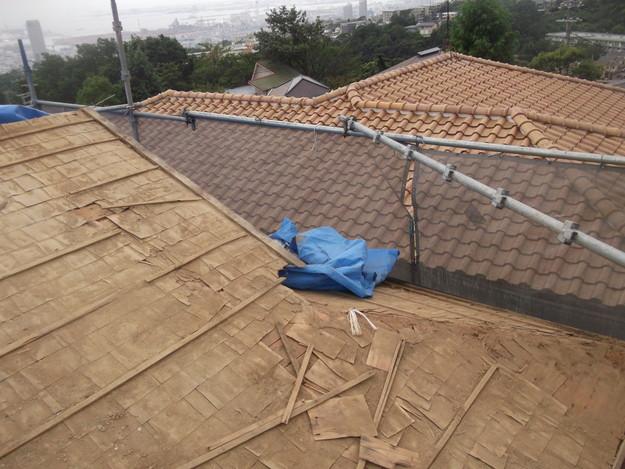 既存屋根撤去後DSCF1907