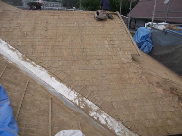 既存屋根撤去後DSCF1913