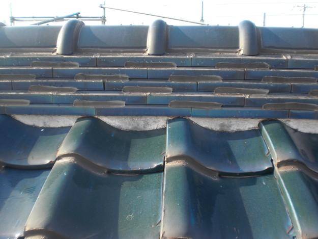 漆喰修理雨漏り対策施工前CIMG1882