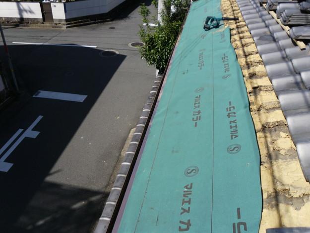 銅板一文字葺き工事4DSCI0420