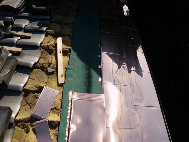 銅板一文字葺き工事9DSCI0435