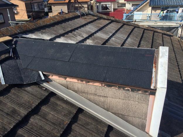 鳩小屋屋根の葺き替え1447719963328