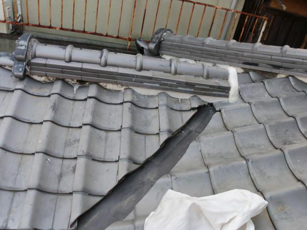 屋根板金工事完了DSCI0498
