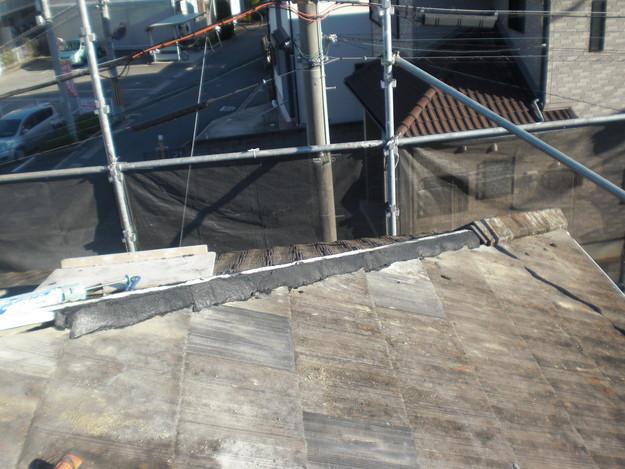 屋根棟修理CIMG1906