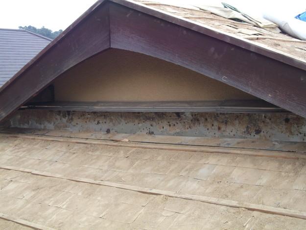 既存屋根撤去後DSCF1909