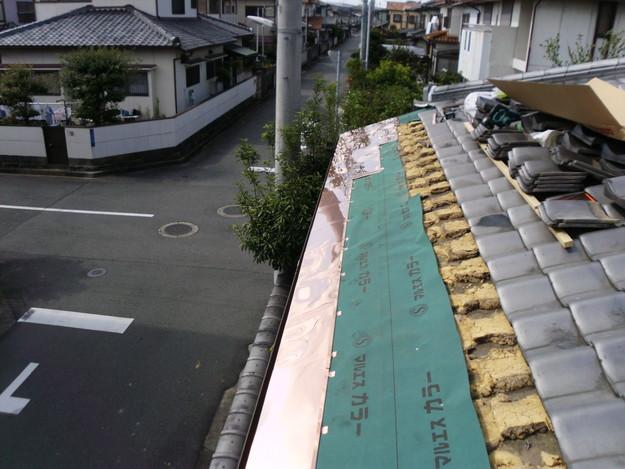 銅板一文字葺き工事5DSCI0423