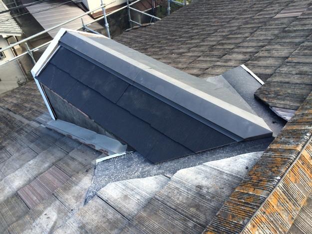 鳩小屋屋根の葺き替え1447719958351