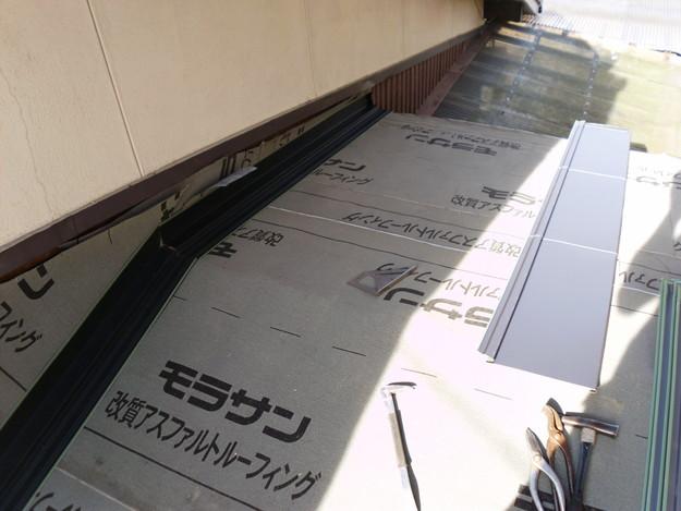 12雨漏り対策修理施工中DSCI0578