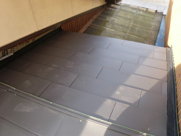 13雨漏り対策修理施工中DSCI0579
