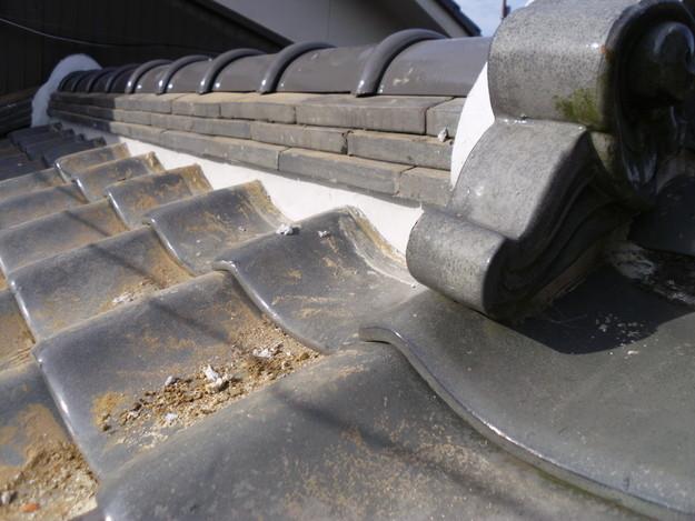 14雨漏り対策修理施工中DSCI0581