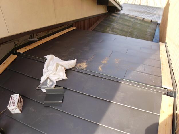 16雨漏り対策修理施工中DSCI0583