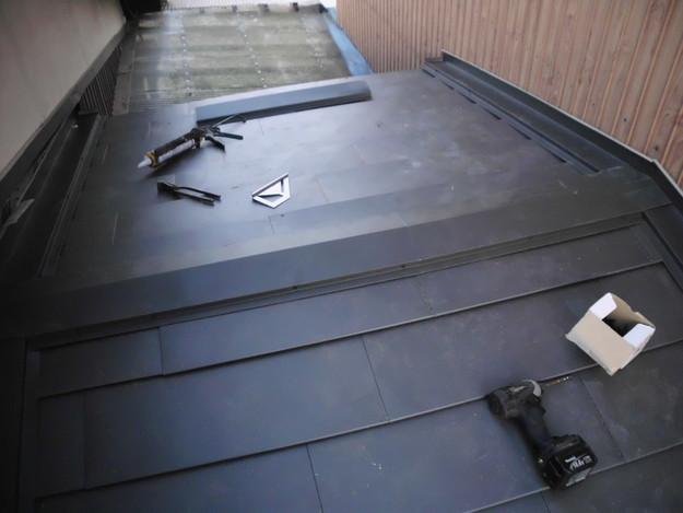 17雨漏り対策修理施工中DSCI0593