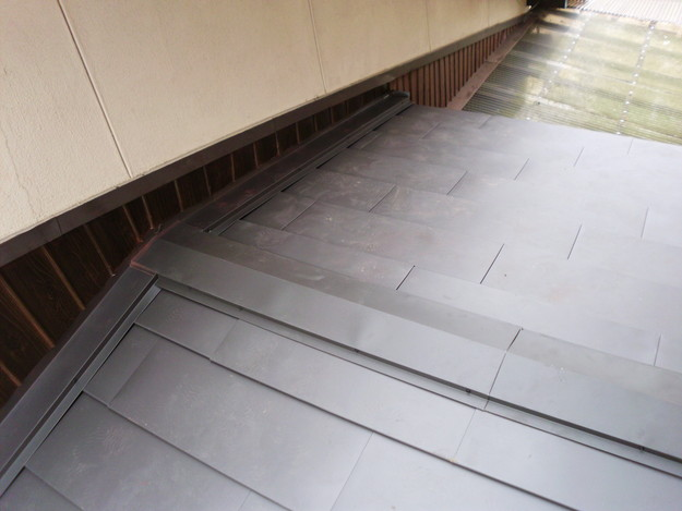 18雨漏り対策修理施工中DSCI0595