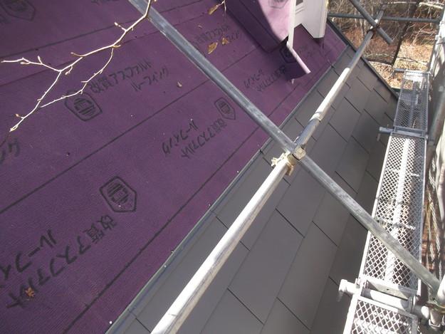 2屋根敷設中DSCF2255